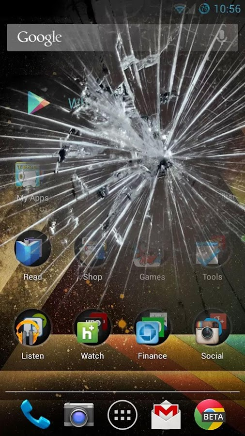 broken monitor prank screen - photo #21