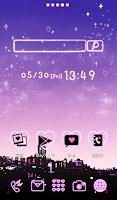 Screenshot of Cute wallpaper★Twilight sky