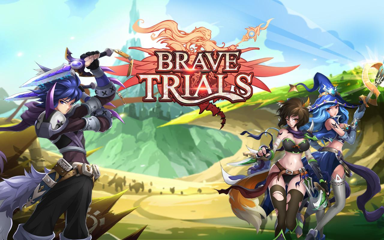 Brave Trials- screenshot