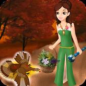Princess Pardoning a Turkey