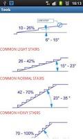 Screenshot of Stairs Tools Free