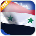 3D Syria Flag Live Wallpaper icon