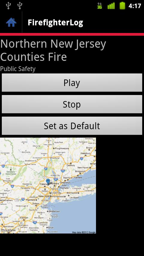 FirefighterLog - screenshot