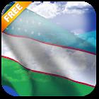 3D Uzbekistan Flag LWP icon