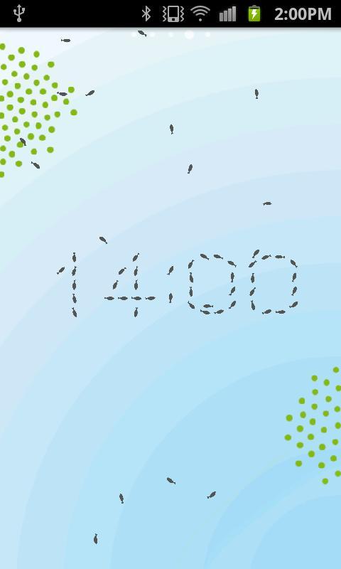 nendo x elecom UO clock- screenshot