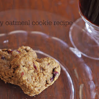 Healthy Oatmeal Cookie.