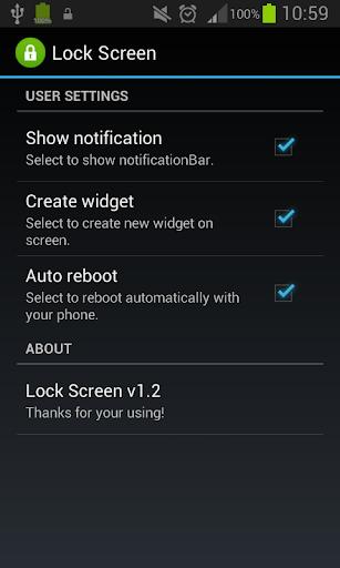Lock Screen Lock Screen