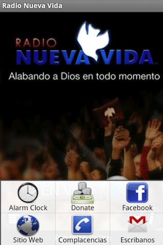 Radio Nueva Vida - screenshot