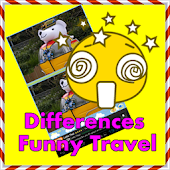 Find differences funny travel