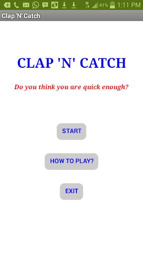 Clap 'N' Catch