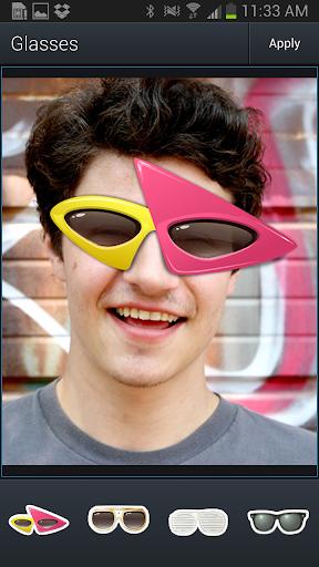 Aviary Stickers: Glasses