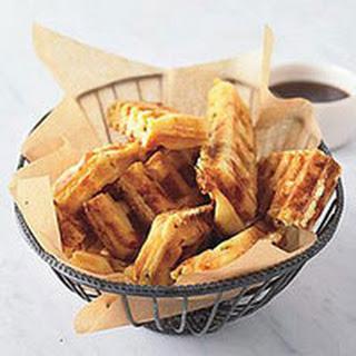 Jalapeño-Cheddar Waffle Sticks