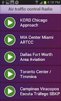 Screenshot of Air traffic control Radio