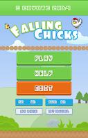 Screenshot of Falling Chicks - 8 bit