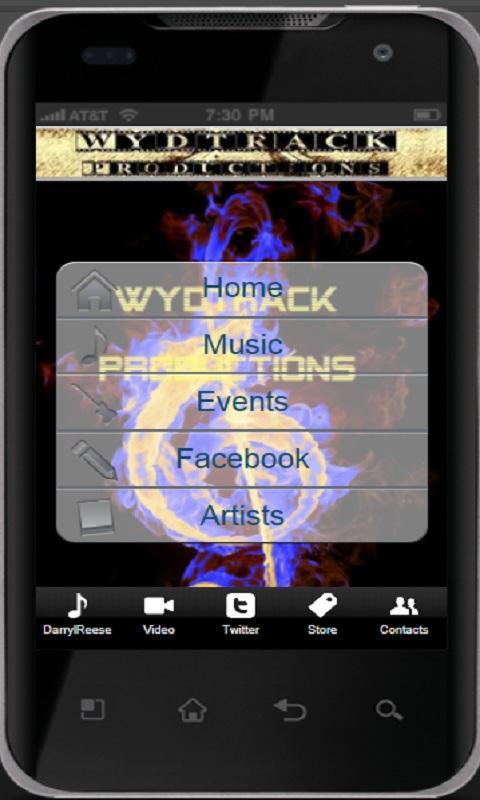 Wydtrack Productions - screenshot