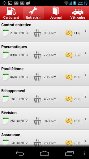 玩免費工具APP|下載Road Service : Entretien auto app不用錢|硬是要APP