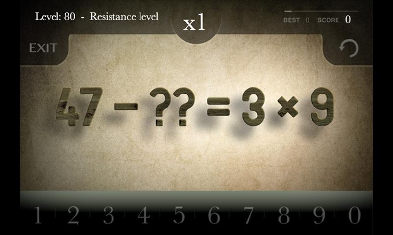 Aequalis: Matemáticas Zen: captura de pantalla
