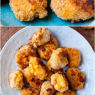 Macaroni and Cheese Baked Cheese Balls.