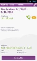 Screenshot of IFS Notify Me