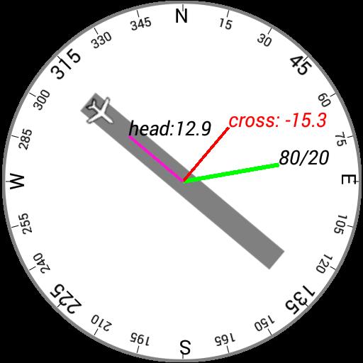Cross Wind Components LOGO-APP點子