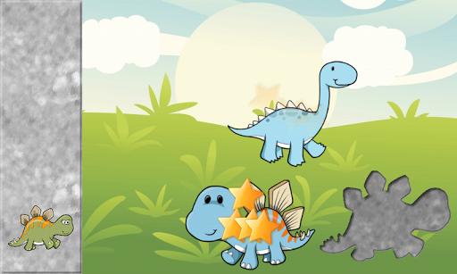 【免費教育App】為孩子們的恐龍拼圖-APP點子