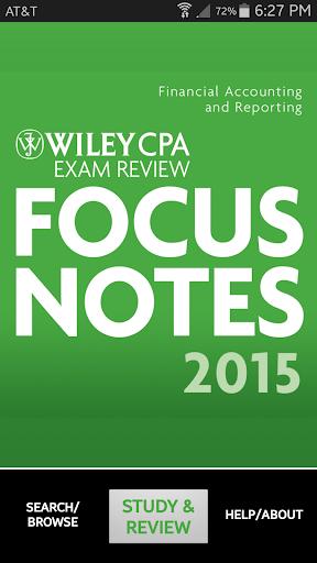 FAR Notes - Wiley CPA Exam