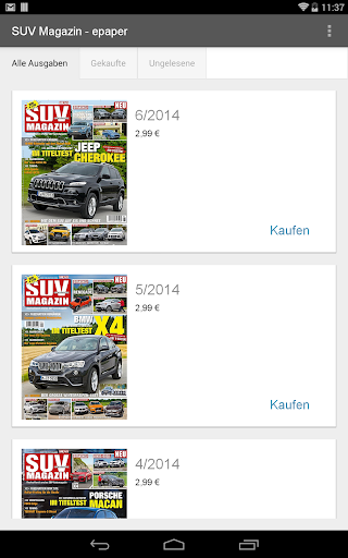 SUV Magazin - epaper - Android Apps on Google Play