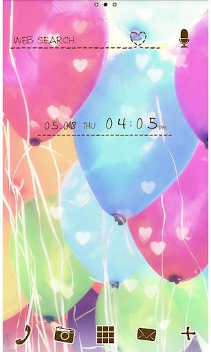 ballon for[+]HOMEきせかえテーマ