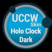 Holo Clock Dark - UCCW Skin