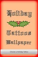 Screenshot of Holiday Tattoos