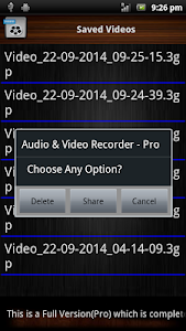 Audio and Video Recorder Lite screenshot 4