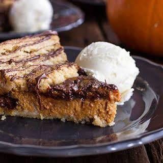 Nutella® Swirled Pumpkin Pie.