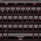 Keyboard Theme Frame Red icon