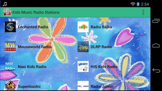 Kids Music Radio Stations