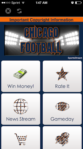 Chicago Football STREAM+