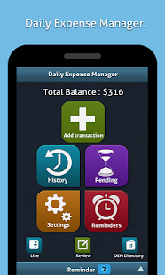Daily Expense Manager (DEM) - screenshot thumbnail