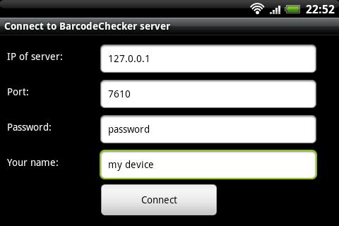 BarcodeChecker for Tickets- screenshot