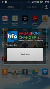 Bagan Font Changer - screenshot thumbnail