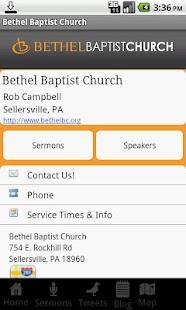 Bethel Baptist Church- screenshot thumbnail