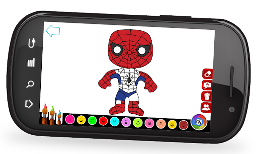 Super Coloring Heroes- screenshot thumbnail