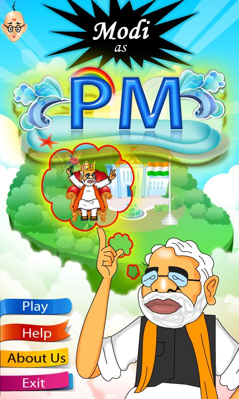 MODI AS PM- screenshot