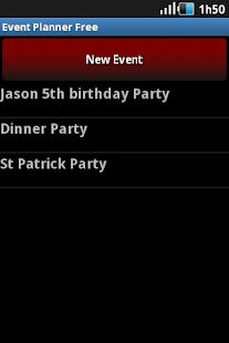 Event Planner- screenshot thumbnail