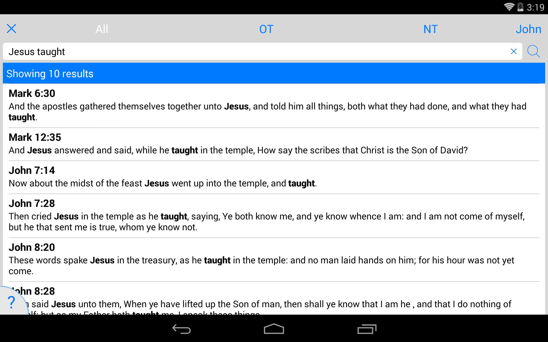 The Holy Bible - King James screenshot #24