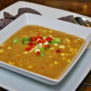 Crock Pot Corn And Red Pepper Chowder