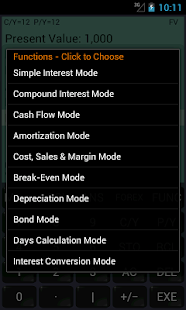 Financial Calculator (adfree)- screenshot thumbnail