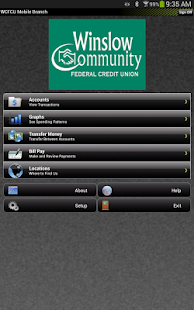 WCFCU Mobile- screenshot thumbnail
