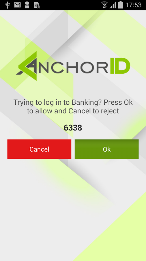 AnchorID Mobile- screenshot