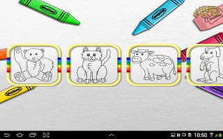 Screenshot of Paint Animals for Toddlers