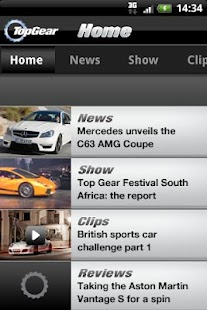 Top Gear - News- screenshot thumbnail