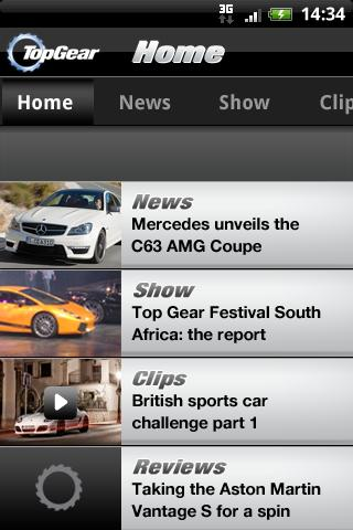 Top Gear - News- screenshot